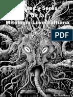 Dioses y Seres de La Mitologia Lovecraftiana