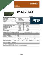 DATA SHEET PROLEC - 1500 KVA - 22860V - 480-240V