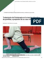 Tratamiento de Fisioterapia en la marcha idiopática de puntillas