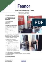 FEANOR C40 Gear Measuring Centre
