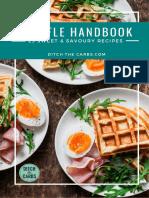 How to make chaffles - 23 recipes handbook