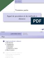 Cours 3 - Appel de procédure