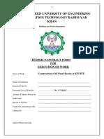Tender Documents