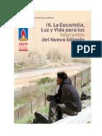 16. La Eucaristía, Luz y Vida Para Los Migrantes Del Nuevo Milenio