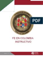 INSTRUCTIVO FE EN COLOMBIA