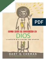 ¿Como Jesús Se convirtió en Dios? -  Bart Ehrman