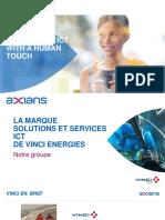Présentation Axians IT Solutions Maroc