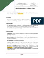 SST-P-05 PROCEDIMIENTO PARA LA IDENTIFICACION Y ACCESO A REQUISITOS LEGALES