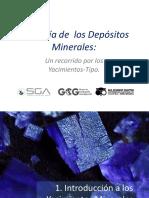Geología de los Depósitos Minerales