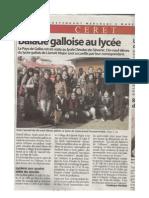 article échange mars 2008