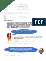 Guía No. 1 - Segundo Semestre - Español 6°