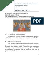 1.2. Aspectos Pastorales y Litúrgicos