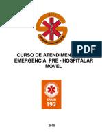 Apostila de ENFERMAGEM (Emergência SAMU)