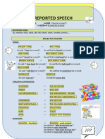 Worksheet Reported Speech (At home) (2)