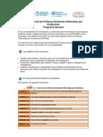 programa-general-curso-politicas-informadas-evidencias-EVIPNet_ES