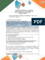 Guia de actividades y Rúbrica de evaluación - Unidad 1- Fase 2 - Elaborar árbol de problema y objetivos.pdf