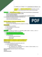 Esquema farmacología Nutricion 4º