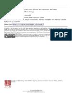 Subjetividad y lazo social. Efectos del terrorismo del Estado1  Lic. Ana María Careaga (UBA) (2015)