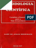 METODOLOGIA CIENTIFICA - AURO RODRIGUES