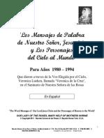 Veronica lueken  mensajes 1980-1994