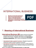 International Business (Session-1)