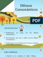 PPT diagnóstico dífonos consonánticos