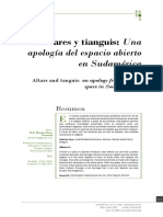 Baros - Altares y tianguis. una apología del espacio abierto en Sudamérica