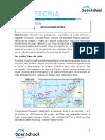 HISTORIA - GUIA 2. LOS VIAJES DE CRISTOBAL COLON