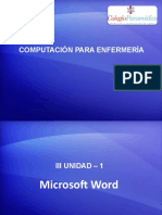 COMPUTACIÓN PARA ENFERMERÍA- III UNIDAD - 1.pptx