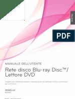 Lettore Blu-Ray LG BD550 - Manuale Utente