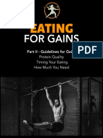 zzEating for Gains - Part II