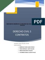 análisis de la casación sobre contratos preparatorios