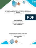 Protocolo de práctica Morfofisiologia II Contingencia COVID 19