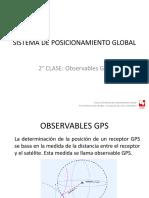 CLASE GPS 2 OBSERVABLES