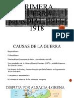 Primera guerra mundial, 1914-1918