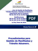 Cap Despachantes 2019 - Proced Transito_Deposito_Importacion