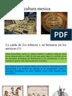La cultura mexica