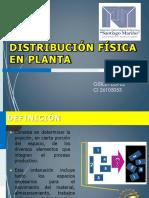 Distribucion de Planta Gisileth Lopez ci 26105053
