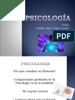 Psicología pre-científica