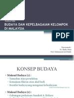 Budaya & Kepelbagaian Kelompok Di Malaysia (EDU 3106)