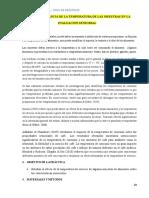 IMPORTANCIA DE LA TEMPERATURA DE LAS MUESTRAS