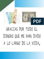 Afirmacion del dinero