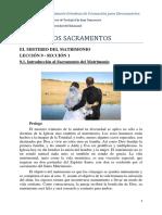 9.1. Introducción al Sacramento del Matrimonio