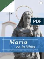 TALLER MARÍA EN LA BIBLIA