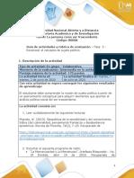 Guía de actividades y rúbrica de evaluación - Unidad 2 - Fase 3 - Reconocer el concepto de sujeto político-1 (1)