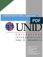 Actividad Final de Cultura organizacional contestado.docx