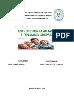 ESTRUCTURA FAMILIAR Y DINÁMICA
