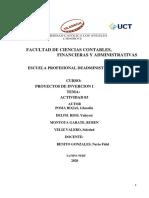 ACT.03 PROYECTOS DE INVERSIÓN SII