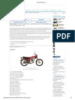 Honda CB 100 series