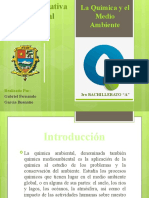 La Química y el Medio Ambiente GABRIEL GARCIA 3 ``A´´